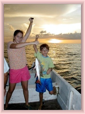 Isla Holbox fishing for all ages